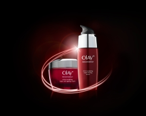 Olay Reg Serum and Cream