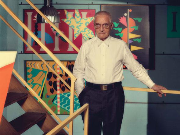 Designer Alessandro Mendini