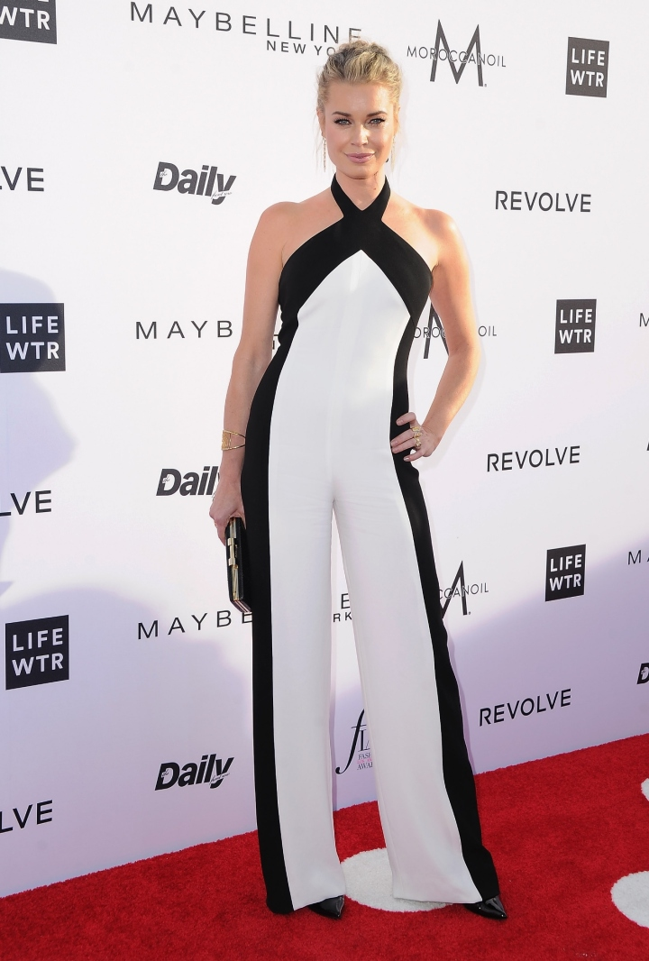 Rebecca Romijn at the