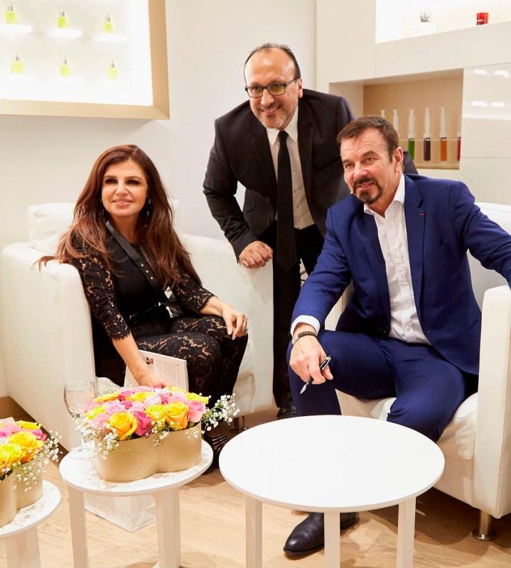 31- Leyla Obeid + Marc El Khoury + Dr Olivier Courtin-Clarins _05O5145